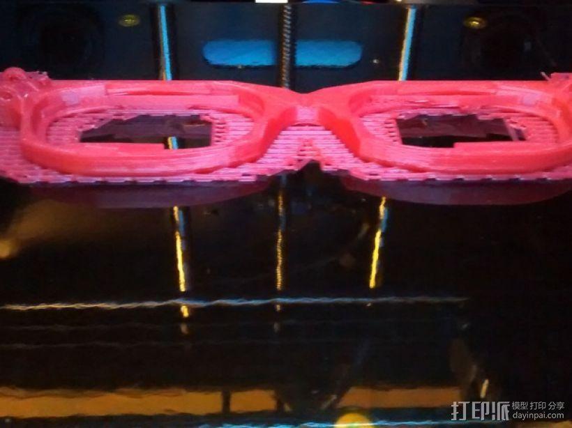 眼镜框 3D模型  图7