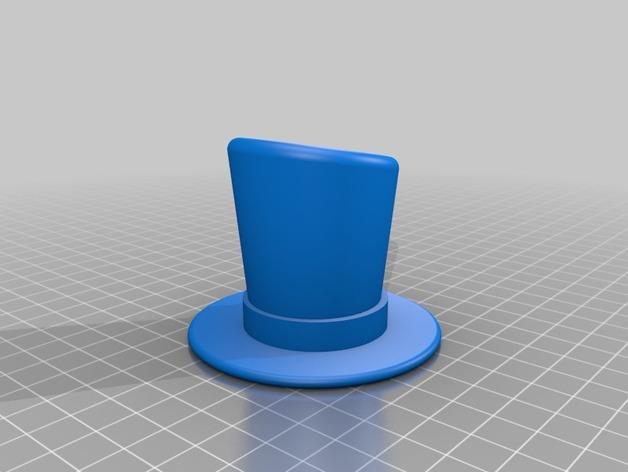 Octo章鱼大礼帽 3D模型  图1