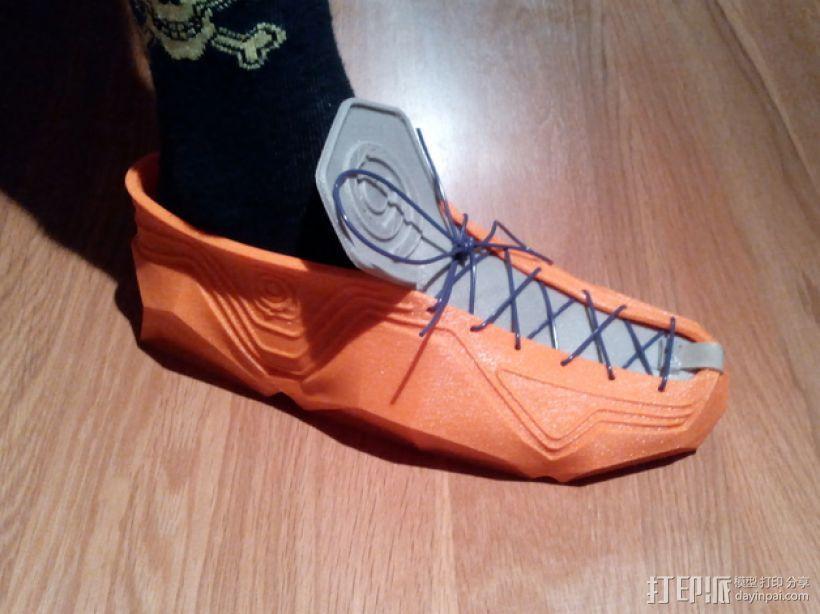Recreus运动鞋 3D模型  图1