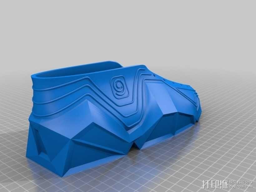 Recreus运动鞋 3D模型  图16