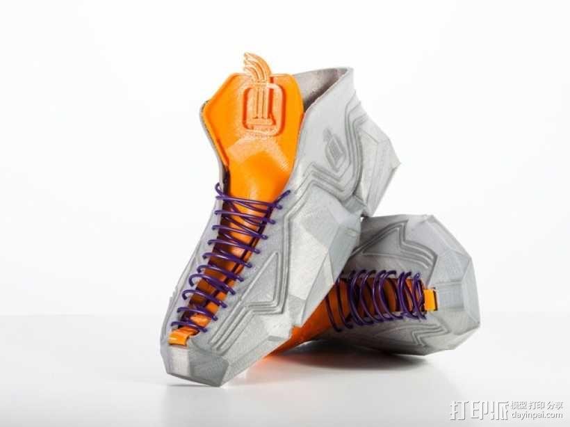 Recreus运动鞋II  3D模型  图1