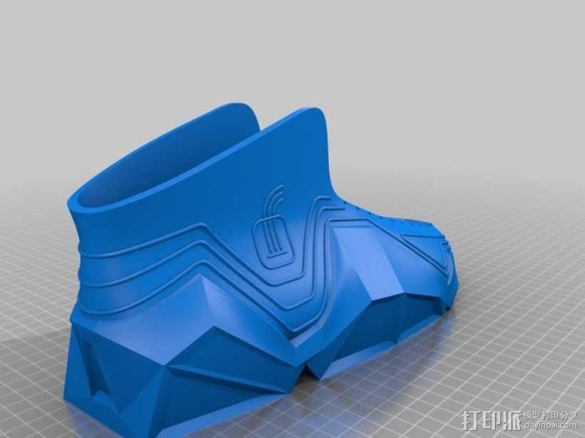 Recreus运动鞋II  3D模型  图4