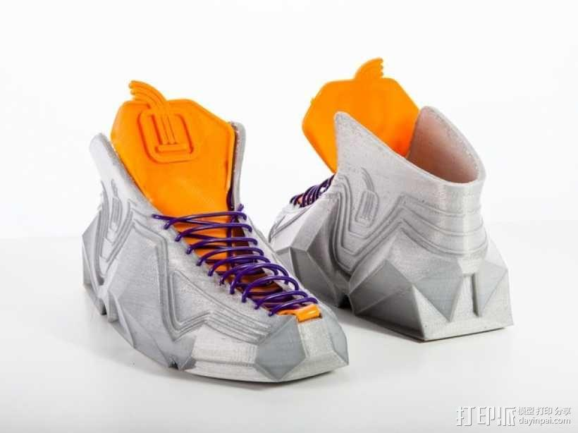 Recreus运动鞋II  3D模型  图5