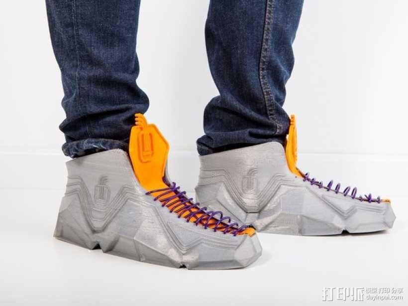 Recreus运动鞋II  3D模型  图7