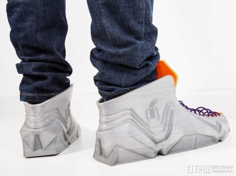 Recreus运动鞋II  3D模型  图9