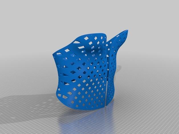 3D打印束身衣 3D模型  图2