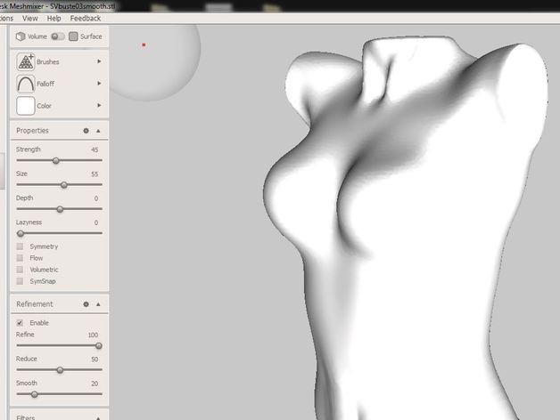 3D打印束身衣 3D模型  图6