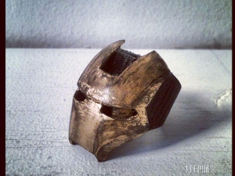 钢铁侠戒指 3D模型  图4