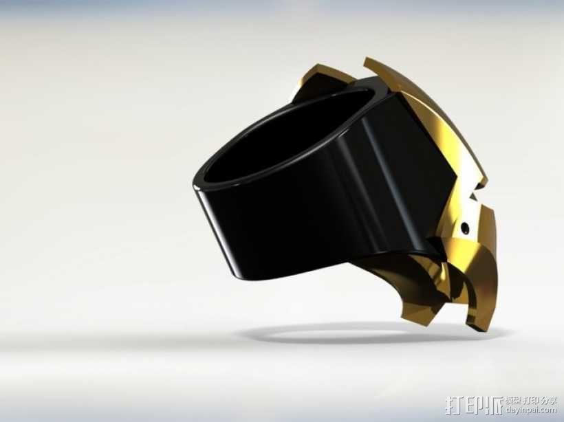 钢铁侠戒指 3D模型  图7