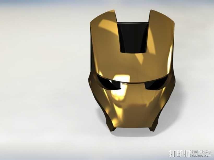 钢铁侠戒指 3D模型  图9