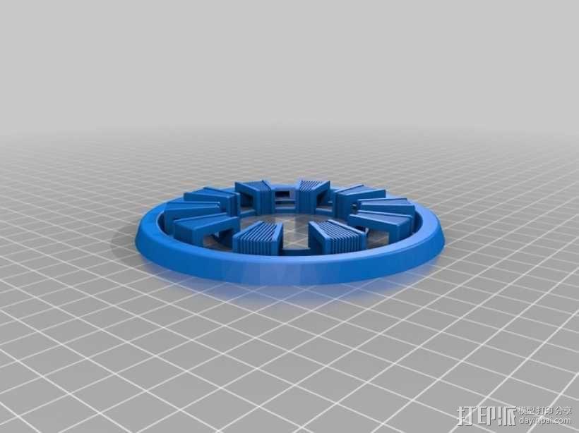 电影《钢铁侠》反应堆 3D模型  图2
