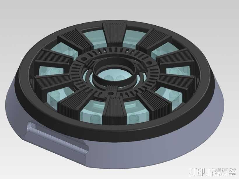 电影《钢铁侠》反应堆 3D模型  图8