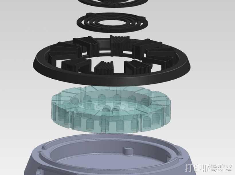 电影《钢铁侠》反应堆 3D模型  图9