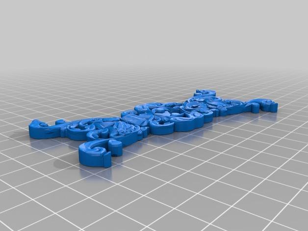 Minimalism领结 3D模型  图2