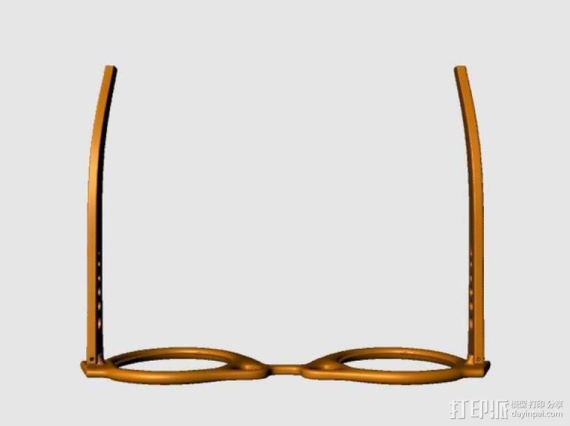 个性眼镜框 3D模型  图3