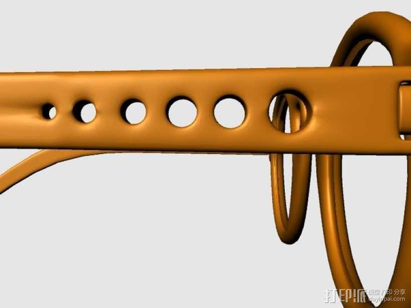 个性眼镜框 3D模型  图4