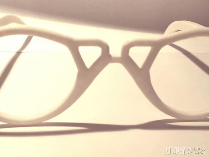 个性眼镜框 3D模型  图6