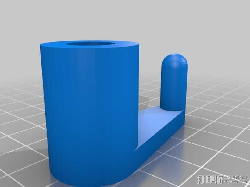 笔记本电脑支架 3D模型  图2