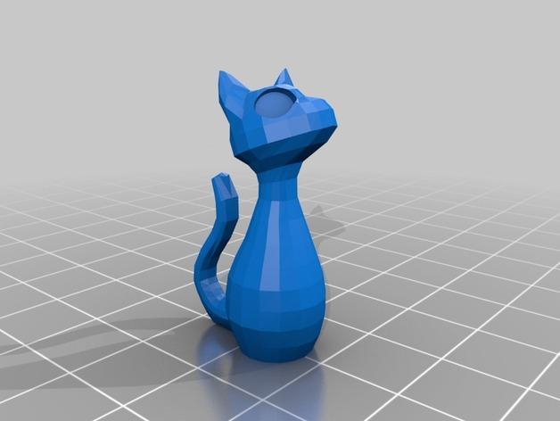 小猫耳环/装饰品 3D模型  图7