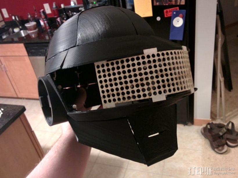 """""""傻瓜朋克""""乐队头盔 3D模型  图2"""