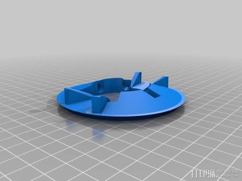 """""""傻瓜朋克""""乐队头盔 3D模型  图8"""
