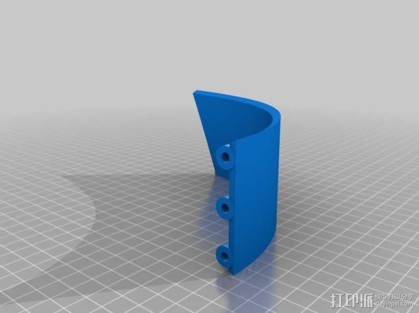 """""""傻瓜朋克""""乐队头盔 3D模型  图9"""