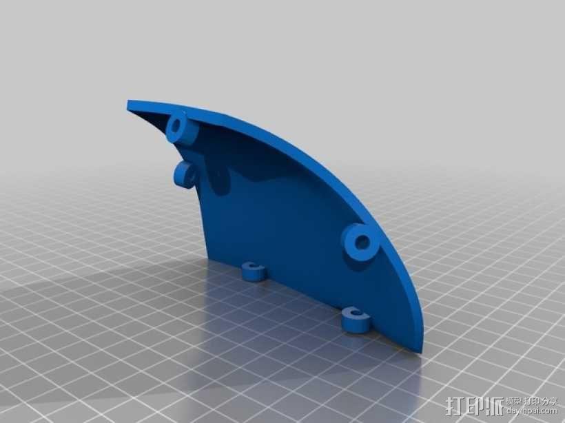 """""""傻瓜朋克""""乐队头盔 3D模型  图14"""
