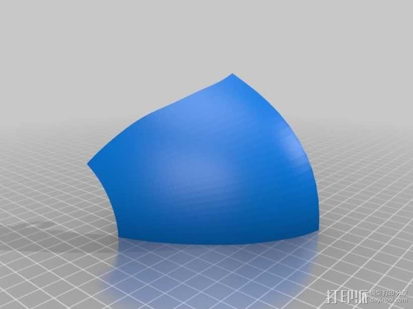 """""""傻瓜朋克""""乐队头盔 3D模型  图15"""