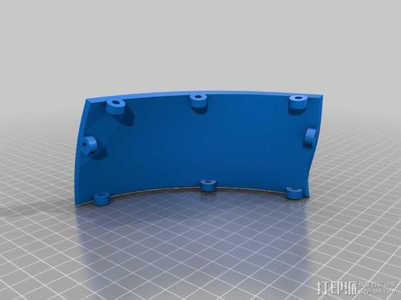 """""""傻瓜朋克""""乐队头盔 3D模型  图17"""