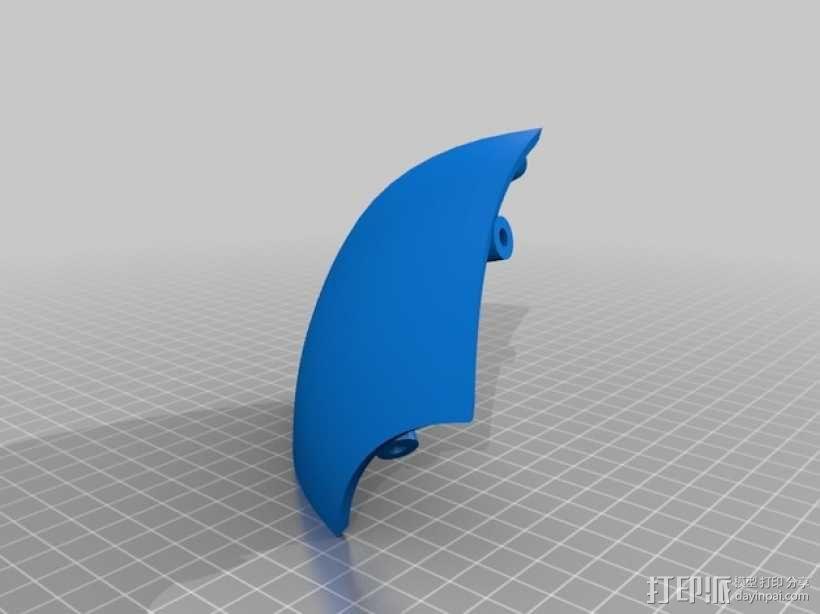 """""""傻瓜朋克""""乐队头盔 3D模型  图16"""