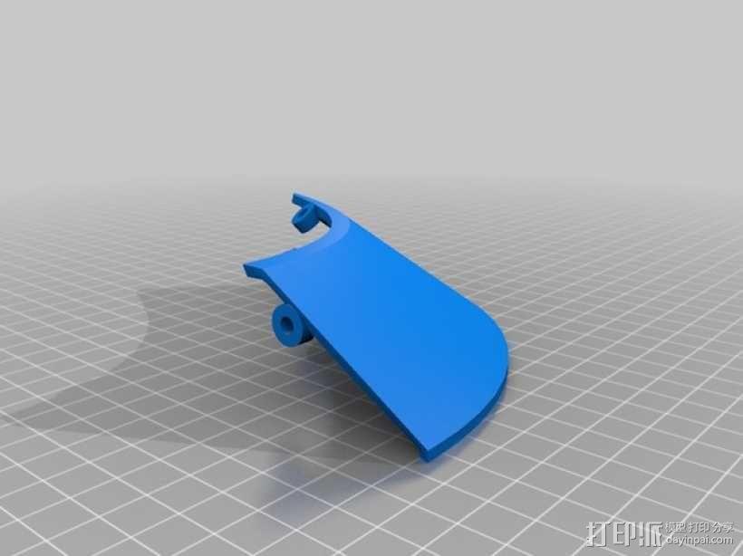 """""""傻瓜朋克""""乐队头盔 3D模型  图20"""