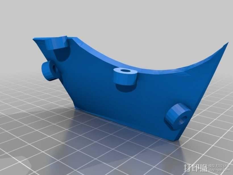 """""""傻瓜朋克""""乐队头盔 3D模型  图21"""