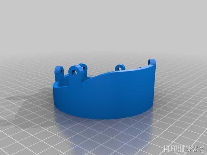 """""""傻瓜朋克""""乐队头盔 3D模型  图26"""
