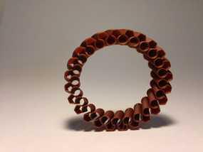 定制化褶饰边手镯 3D模型