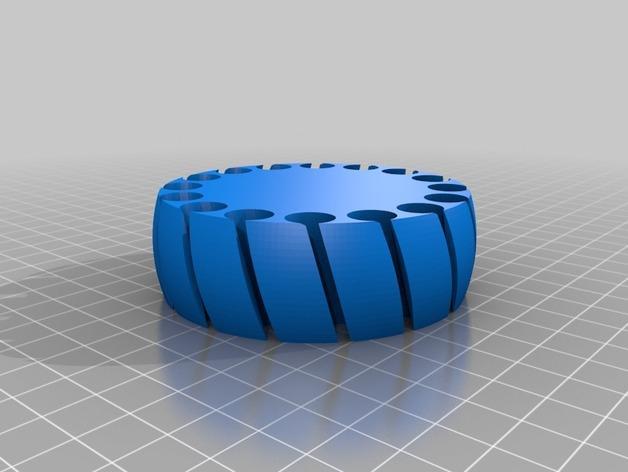 定制化褶饰边手镯 3D模型  图4