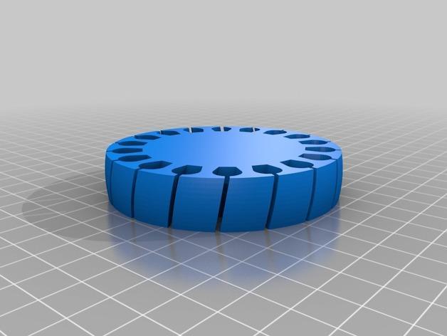 定制化褶饰边手镯 3D模型  图3