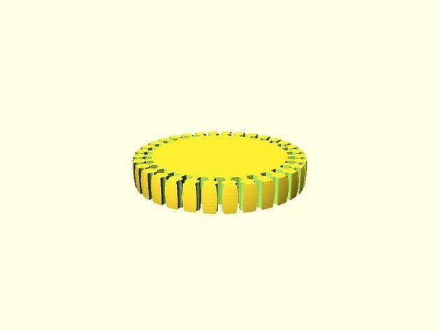 定制化褶饰边手镯 3D模型  图6