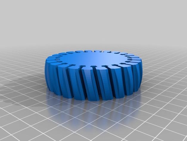 定制化褶饰边手镯 3D模型  图5