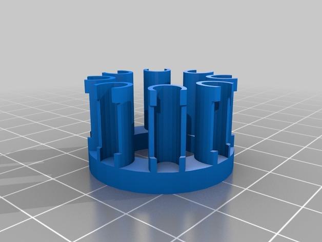 橡皮筋饰品编制器 3D模型  图5