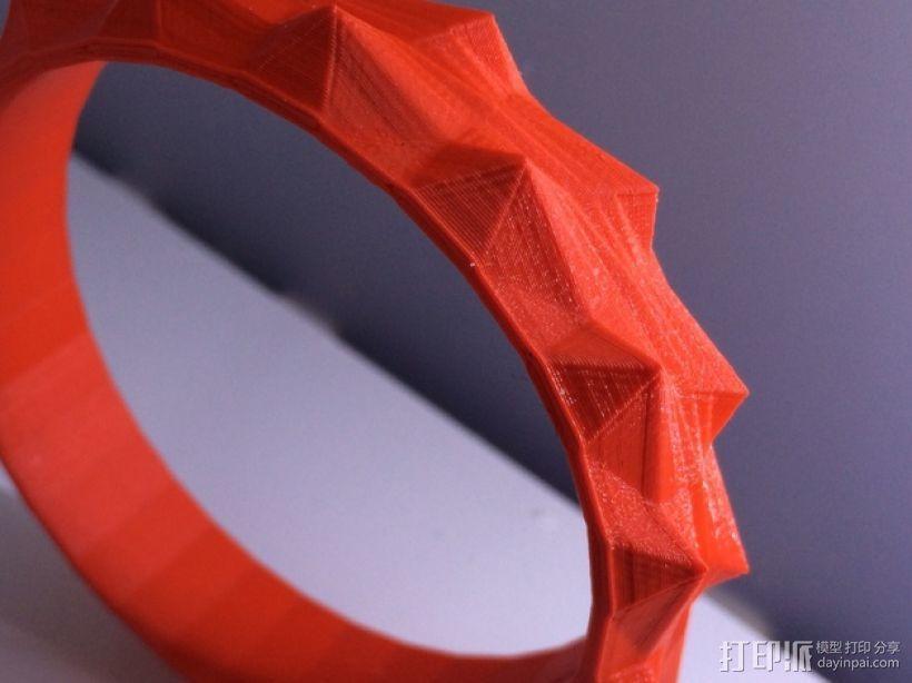 时尚手镯 3D模型  图1