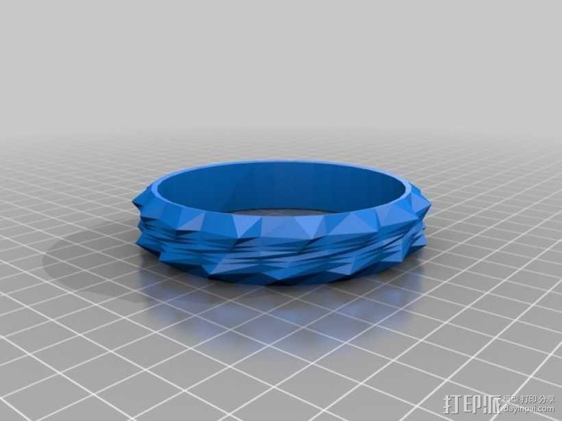 时尚手镯 3D模型  图3