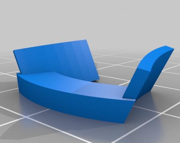 带有滤光镜功能护目镜 3D模型  图7