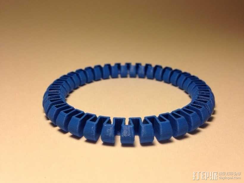 定制化圆形手镯 3D模型  图4