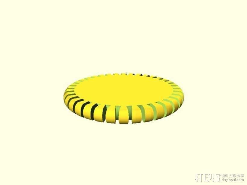 定制化圆形手镯 3D模型  图6