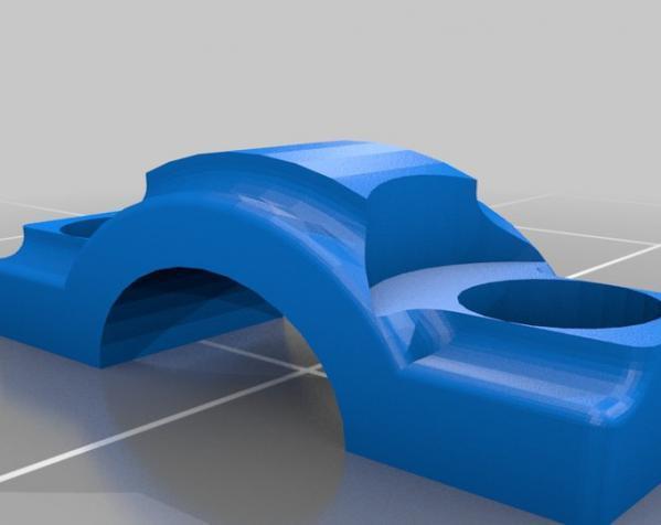 活塞钥匙扣 3D模型  图3