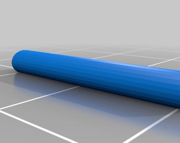 活塞钥匙扣 3D模型  图4
