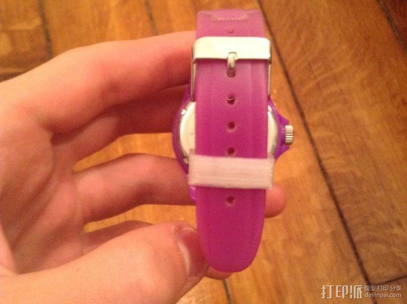 Ice Watch手表表带零部件 3D模型  图1