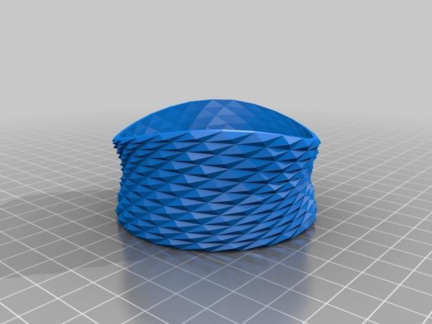 多边形手镯 3D模型  图2