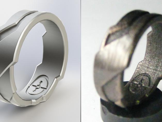 Tron戒指/指环 3D模型  图4