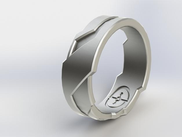 Tron戒指/指环 3D模型  图3